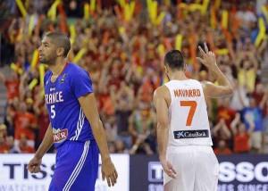 España Francia Mundial Baloncesto 2014 Spain
