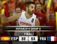 La apisonadora española arrasa a Francia en el 4º partido del Mundial