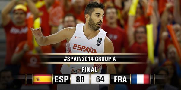 mundial baloncesto 2014 españa francia
