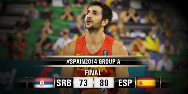 serbia españa mundial baloncesto spain 2014