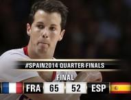 Francia derrota en cuartos a una España descolorida