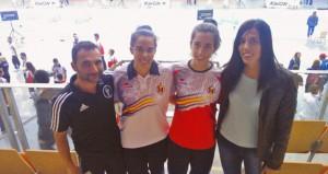 Xixo, Marta, Pilar Martín y Eva Calvo. Fuente: Club Sánchez Élez