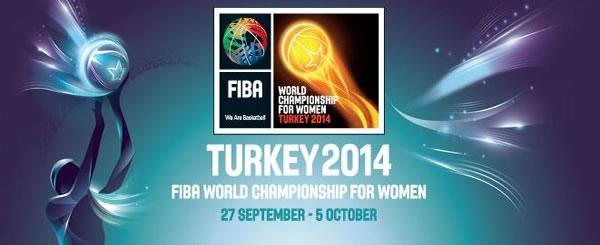Mundia Baloncesto Femenino Turkía 2014