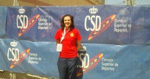 Sonia Franquet en el Mundial de Tiro en Las Gabias. Fuente: L.P. Torres