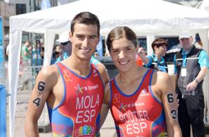 Mola y Carolina Routier. Fuente: Fetri
