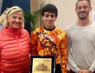 Tomás Llorens Guarino, plata en el Lombardia Trophy Novice de patinaje artístico sobre hielo