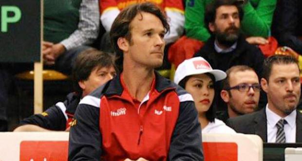 El capitán español de la Copa Davis Carlos Moyá. Fuente: RFET