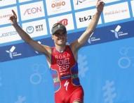 Gómez Noya revalida su triunfo en el triatlón de Pekín