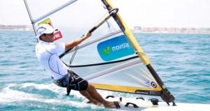 El windsurfista Iván Pastor. Fuente: AD