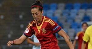 La centrocampista Jenni Hermoso. Fuente: Uefa