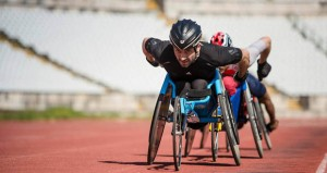 El deportista catalán Jordi Madera durante una competición. Fuente: Susana Luzir