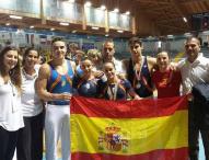Melania Rodríguez y Javier Hinojosa, medallistas en los Juegos del Mediterráneo de gimnasia artística