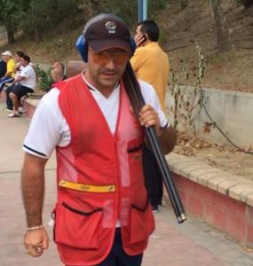 El tirador Kako Aramburu. Fuente: RFEDETO