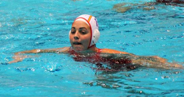 La jugadora de la selección española de waterpolo Maica García. Fuente: RFEN