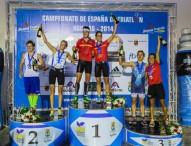 Miriam Casillas y Uxio Abuín, campeones de España de triatlón