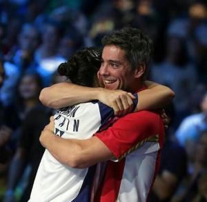 Carolina y Fernando. Fuente: Badminton Photo
