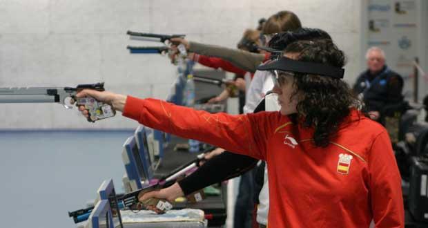 La tiradora Sonia Franquet: Fuente: tiro olímpico