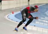 Iñigo Vidondo consigue el póquer de récords de España de patinaje de velocidad