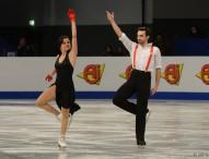 Sara y Adrián, 3º en el programa corto en Zagreb