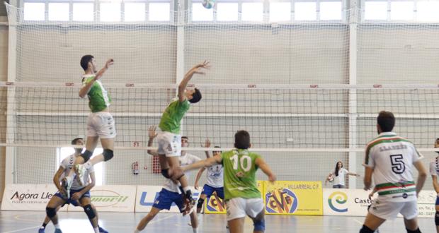 El Unicaja Almería se estrena con victoria en la Superliga de voleibol. Fuente: Alejandra Pallarés