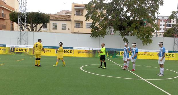 Partido entre Málaga y Granada disputado en la capital malagueña. Fuente: AD