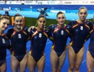 El equipo femenino de gimnasia artística logra su billete para el Mundial 2015