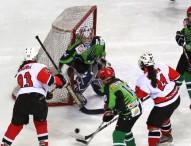 Doble triunfo del Majadahonda en la liga de hockey hielo