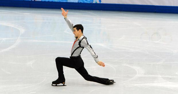 El patinador español, Javier Fernández, en los Juegos de Sochi. Fuente: Fedhielo