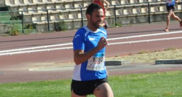 El corredor andaluz Juan Manuel Domínguez Poyato. Fuente: Villaverde del Río