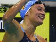 Mireia Belmonte, oro y plata en la 1ª jornada en Moscú