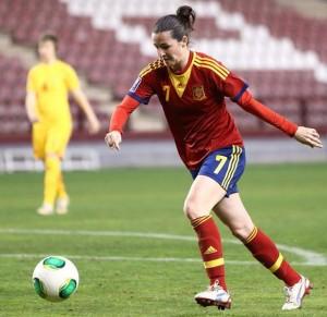 Natalia Pablos. Fuente: Sefútbol