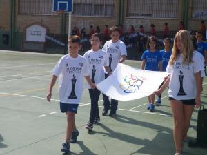 Presentación 2ª edición 'Olimpismo en la escuela'. Fuente: LPT/Avance Deportivo