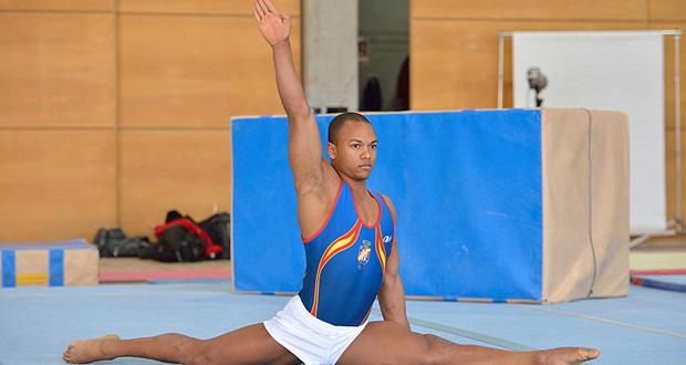 El gimnasta español Rayderley Zapata. Fuente: FotSportEvento