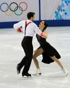 Adrián y Sara en Sochi 2014. Fuente: Fedhielo