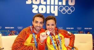 Adrián Díaz y Sara Hurtado. Fuente: AD
