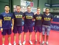 El UCAM Cartagena nuevo líder del tenis de mesa masculino