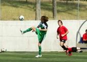 Puesta a punto de la selección española de fútbol en Orihuela
