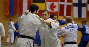 Adrián durante un entrenamiento. Fuente: LP