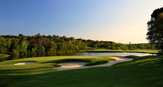 PGA Catalunya hoyo 11. Fuente: Rfeg
