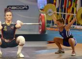 Estefanía Juan y Alba Sánchez, preparadas para el Mundial de halterofilia