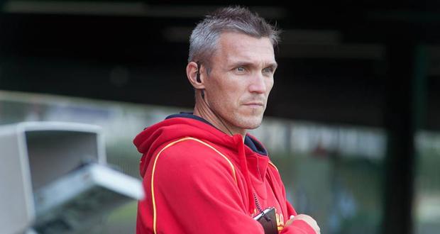 El técnico de la selección española masculina de hockey hierba. Fuente: RFEH