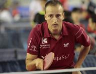 Carlos Machado, 20 años en la élite del tenis de mesa