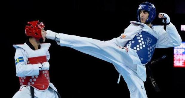 El taekwondista español, Joel González, durante un combate en los Juegos Olímpicos de Londres. Fuente: COE