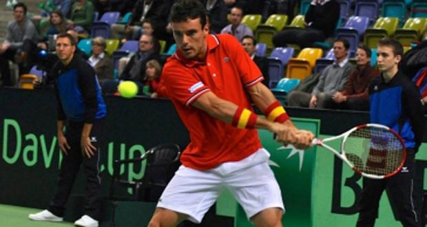 El tenista castellonense Roberto Bautista, mejor progresión de 2014. Fuente: RFET