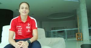 Silvia Navarro durante la entrevista. Fuente: Laura Pérez