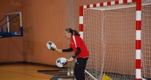 Silvia en un entrenamiento. Fuente: Laura Pérez