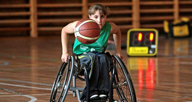 La jugadora del Fundación Grupo Norte y de la selección española, Lourdes Ortega. Fuente: Lourdes O.