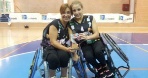 Sonia Ruiz y Lourdes Ortega.