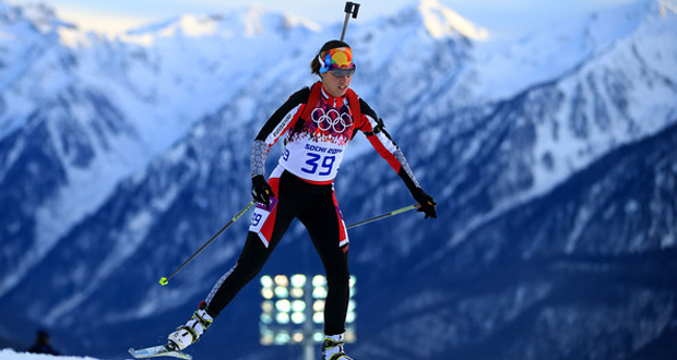 Victoria Padial durante los Juegos Olímpicos de Sochi. Fuente: Richard Heathcote / getty images europe