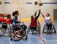 La selección femenina de baloncesto en silla de ruedas comienza su preparación